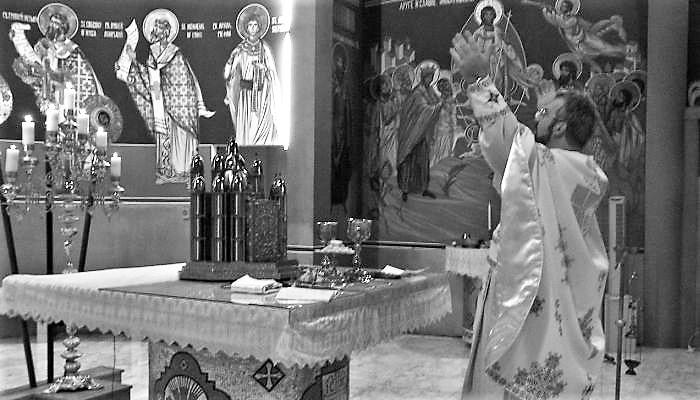 Поп и молитва