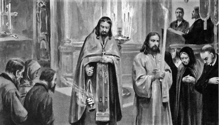 В расколе — меньше всего Христа